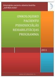Onkoloģisko pacientu psihosociālās rehabilitācijas programma