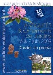Antiquités & Ornements de jardins 2009