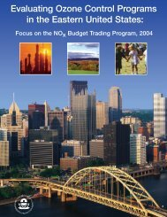 Evaluating Ozone Control Programs in the Eastern United States ...