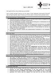 Info-Brief 1 / 2009/2010 - Weiherhof-Realschule