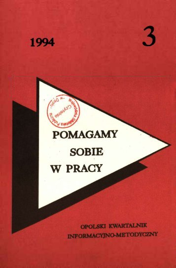 1994 - Bibliotekarz Opolski