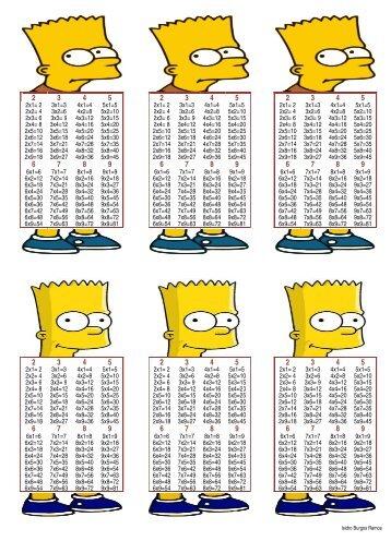 2x1= 2 3x1=3 4x1=4 5x1=5 2x1= 2 3x1=3 4x1=4 5x1=5 ... - Actiludis
