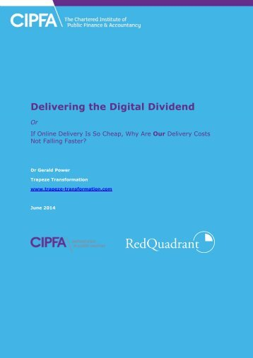 Delivering the Digital Dividend