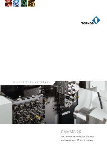 Brochure Gamma 20 - Tornos