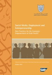 Social Media, Employment and Entrepreneurship - Dubai School of ...