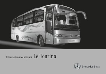 Informations techniques Le Tourino - Mercedes-Benz España