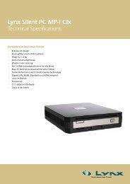 Lynx Silent PC MP-I CIx - bei der Lynx IT-Systeme GmbH