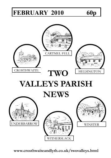 FEBRUARY 2010 60p  - The Parish of Crosthwaite and Lyth