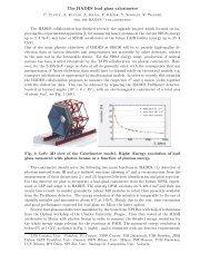 The HADES lead glass calorimeter