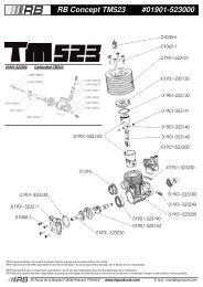 RB Concept TM523 #01901-523000