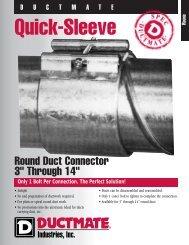 Quick-Sleeve - Allstate Insulation