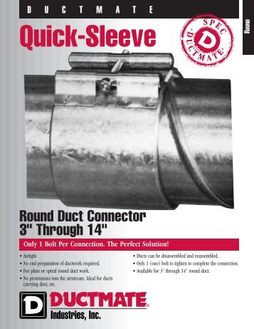 Quick-Sleeve - Allstate Insulation