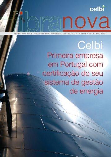 Primeira empresa em Portugal com certificação do seu ... - Celbi