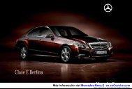 Catálogo del Mercedes-Benz E en pdf - enCooche.com