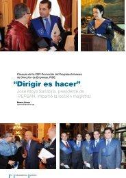 """Dirigir es hacer"""" """" - Instituto Internacional San Telmo"""