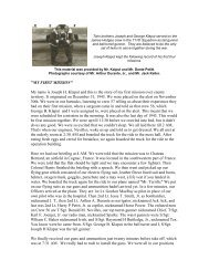 Joseph Klaput Diary - 447th Bomb Group