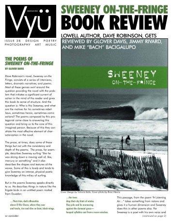SWEENEY ON-THE-FRINGE - Vyu Magazine
