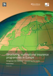 Structuring multinational insurance programmes in ... - ACE Group