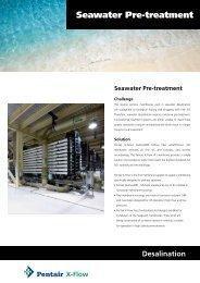 Seawater Pre-treatment - X-Flow