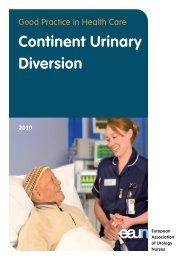 Continent Urinary Diversion - European Association of Urology