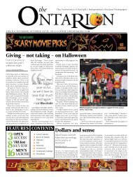 Giving – not taking – on Halloween Dollars and sense - The Ontarion