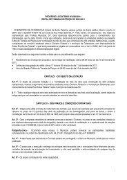 PROCESSO LICITATÓRIO Nº 0097/2010 - Ammoc
