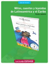 Mitos, cuentos y leyendas de Latinoamérica y el Caribe