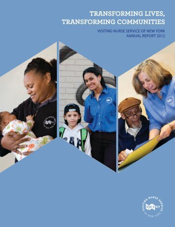 We start with care and go beyond - Visiting Nurse Service of New York