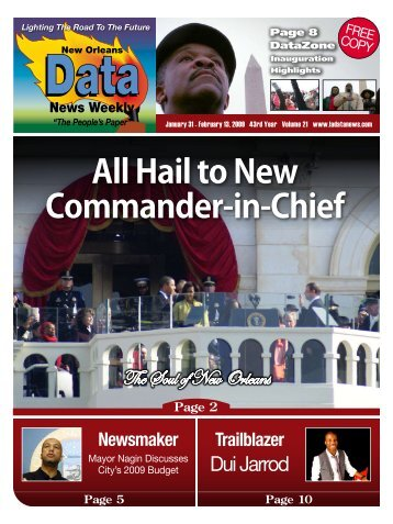 All Hail to New Commander-in-Chief