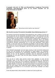 Chijs van Nieuwenhuizen is hoogleraar Forensische ... - EFP