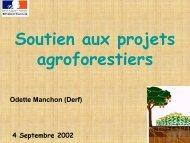présentation du Ministère de l'Agriculture - Inra