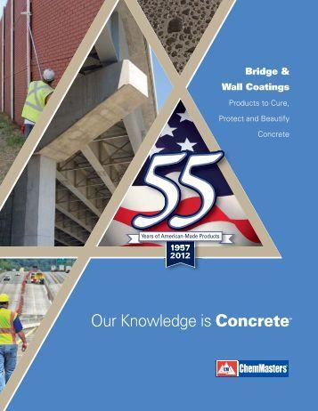 Bridges & Wall Coatings Catalog - ChemMasters