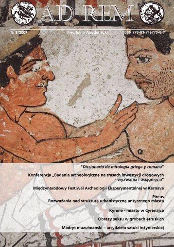 """""""Diccionario de mitologia griega y romana"""" Konferencja """"Badania ..."""