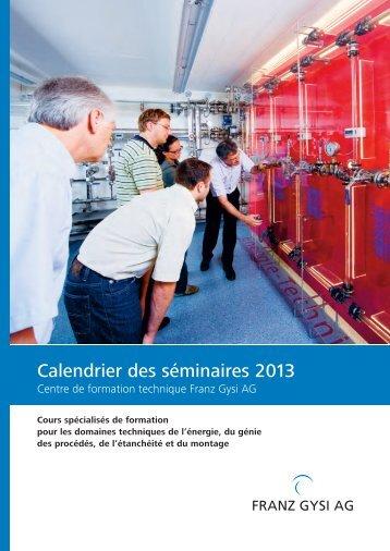 Brochure - Franz Gysi