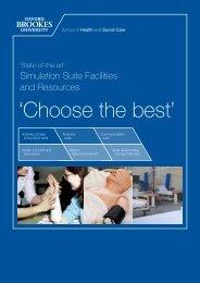'Choose the best'