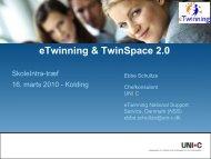 eTwinning - TwinSpace2 - SkoleIntra