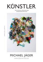 MICHAEL JÄGER - Zeit Kunstverlag