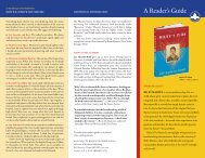A Reader's Guide - Workman Publishing