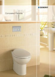 Concealed Cisterns - ASC Info