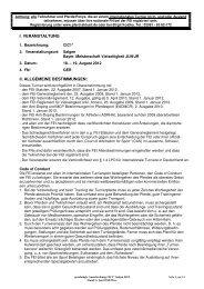 Ausschreibung international - Reit- und Vielseitigkeitszentrum in ...