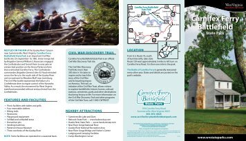Carnifex Ferry State Park Brochure - West Virginia Department of ...