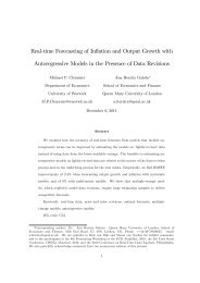 Real-time Forecasting of Inflation and Output Growth with ...