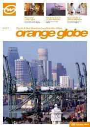 The Air & Sea Magazine from Gebrüder Weiss 01/07