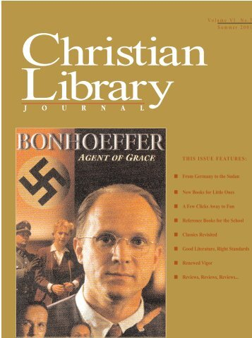 New Books for Little Ones - Christian Library Journal
