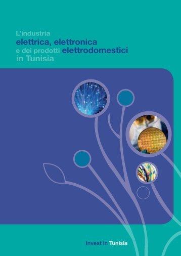 in Tunisia elettrica, elettronica elettrodomestici