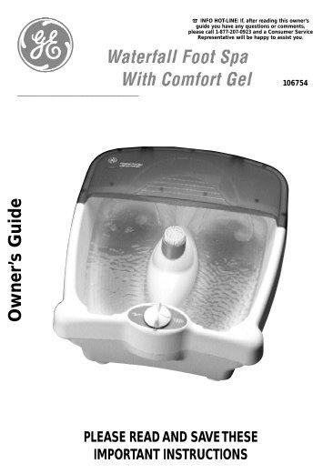 GE106754 Manual.qxd - GE :: Housewares