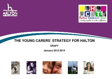 the young carers' strategy for halton - Meetings, agendas and minutes