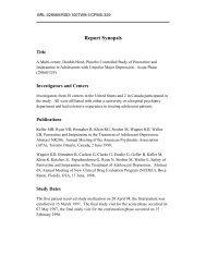 GSK - Paroxetine Study 329