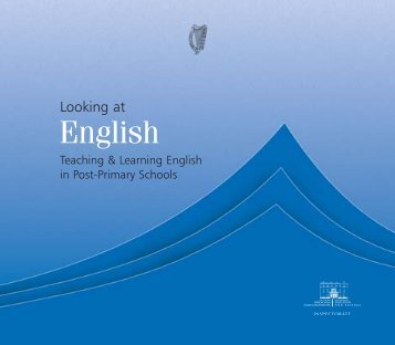 Looking at English - Department of Education and Skills