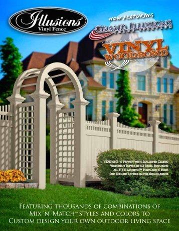 Vinyl Fence brochure - Ketcham Fence